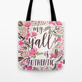 My Y'all is Authentic – Vintage Palette Tote Bag