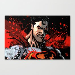 man o Steel Canvas Print