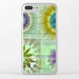 Scald Bared Flowers  ID:16165-022215-51851 Clear iPhone Case