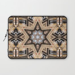 Architectural Star of David Laptop Sleeve