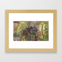 A Strict Code for Mourning Flowers Framed Art Print