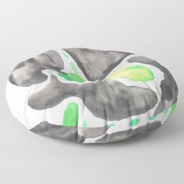 170623 Colour Shape Watercolor 23| Abstract Shapes Drawing | Abstract Shapes Art |Watercolor Paintin Floor Pillow