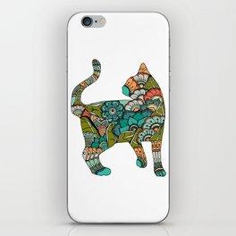 Vegetarian cat iPhone Skin
