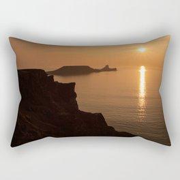 worms head sunset gower Rectangular Pillow