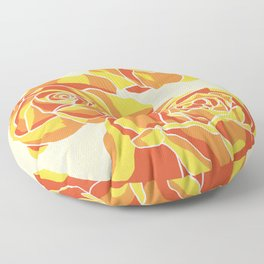 Roses Floor Pillow