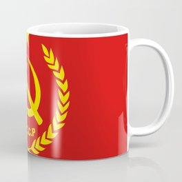 CCCP Communist Hammer & Sickle Coffee Mug