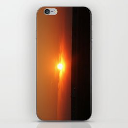 Sunset in Wiltshire England iPhone Skin