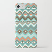 aztec iPhone & iPod Cases featuring Aztec by Priscila Peress