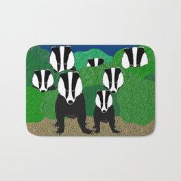 Badgers Bath Mat