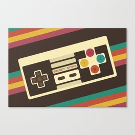 Retro Video Game 2 Canvas Print