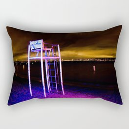 No Lifeguard on Duty - Unseen Rectangular Pillow