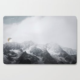 Morning in the Mountains - Nature Photography Cutting Board