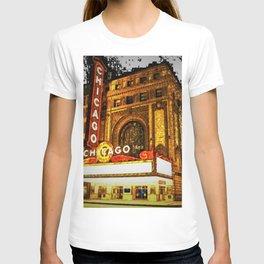 Chicago Theater Portrait No. 2 T-shirt