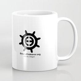 Ship Wheel Logo Coffee Mug