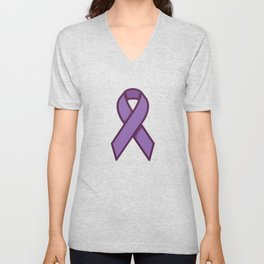 Cancel the Cancer With Pink Day Unisex V-Neck