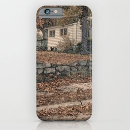 The Heights of Autumn iPhone Case