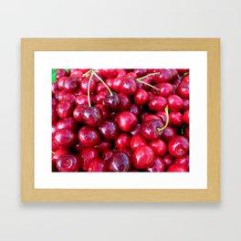 Cherry Cherry Lady Framed Art Print