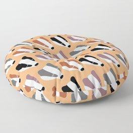 The Badgers Floor Pillow