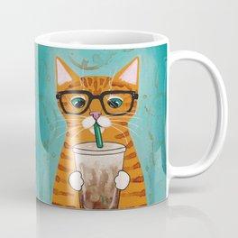 Iced Coffee Cat Coffee Mug