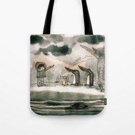 hail to the thief Tote Bag