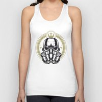 stormtrooper Tank Tops featuring Stormtrooper  by ItsMagicHere