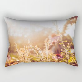 Golden Hours Rectangular Pillow