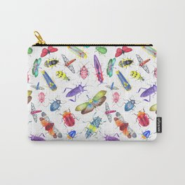 Colorful Bugs and Beetles Collection Carry-All Pouch