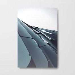 LIGHT FRACTURED OBSTRUCTION Metal Print