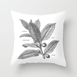 Forever. Throw Pillow