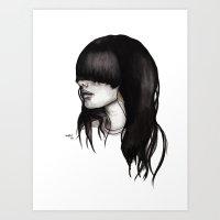 Bangz One Art Print