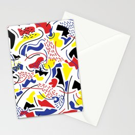 Primary Color Stationery Cards