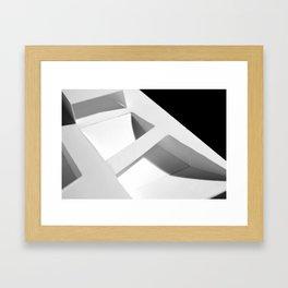 Elevated Grid Framed Art Print