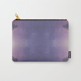 Purple Pines Carry-All Pouch