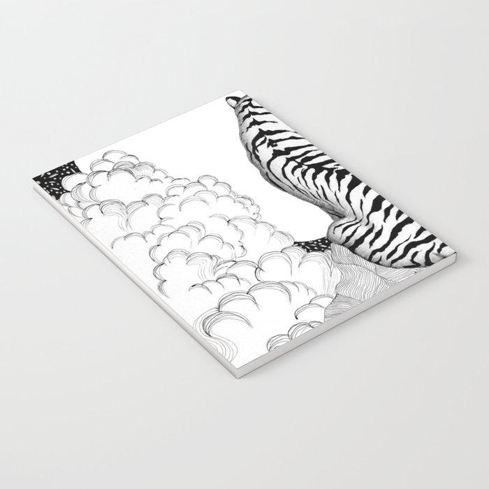 Tiger Moon Notebook