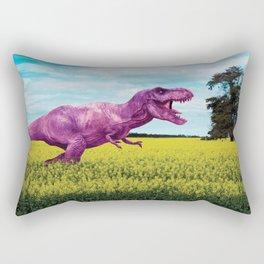 Pink in the fields Rectangular Pillow