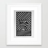 tequila Framed Art Prints featuring Trippin' Tequila by Ana Lillith Bar