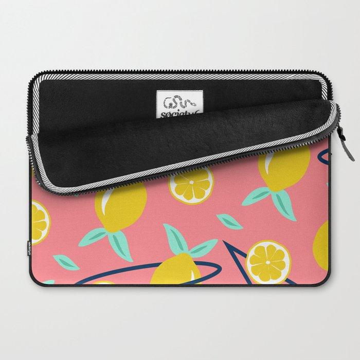 Lemons party #society6 #decor #buyart Laptop Sleeve