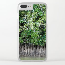 Daintree Rainforest- Mangroves Clear iPhone Case