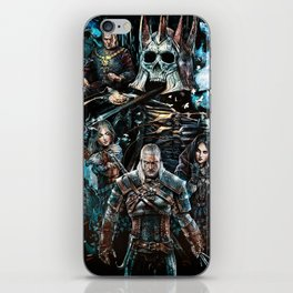 The Witcher Wild Hunt iPhone Skin
