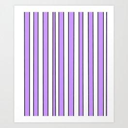 Strips 8-line,band,striped,zebra,tira,linea,rayas,rasguno,rayado. Art Print