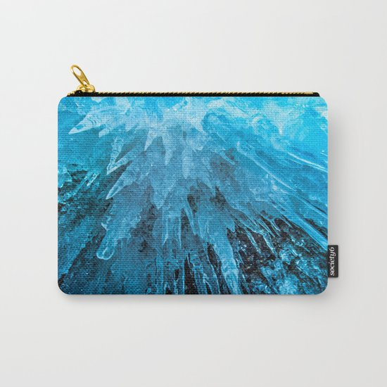 Ice Stalactites Carry-All Pouch