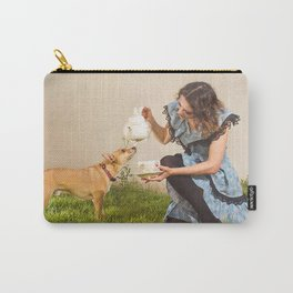Tea With Alice Carry-All Pouch
