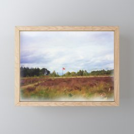 Culloden Painting Framed Mini Art Print
