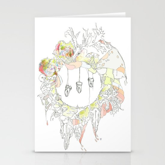 sugar tooth Stationery Cards