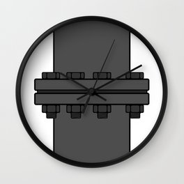 Pipe indesign Fashion Modern Style Wall Clock