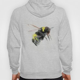 Bumblebee, bee art flying bee design honey bee wildlife Hoody