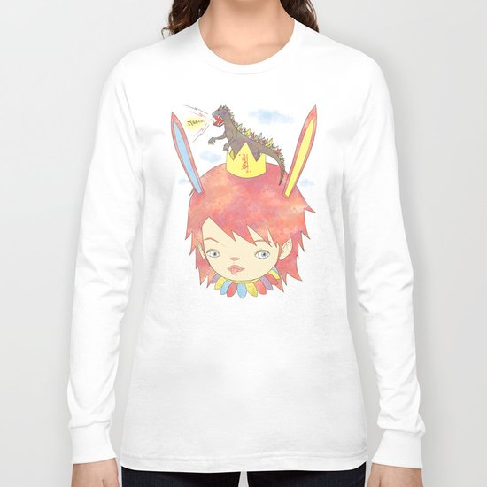 CROWN NEST - GOZILLA KING 고질라킹 Long Sleeve T-shirt