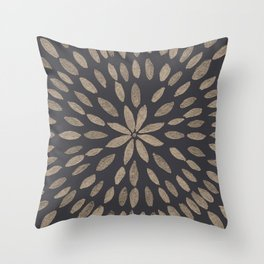 Mandala Flower #5 #drawing #decor #art #society6 Throw Pillow