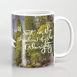 Psalm 91 with Background Coffee Mug