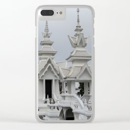 The White Temple - Thailand - 014 Clear iPhone Case
